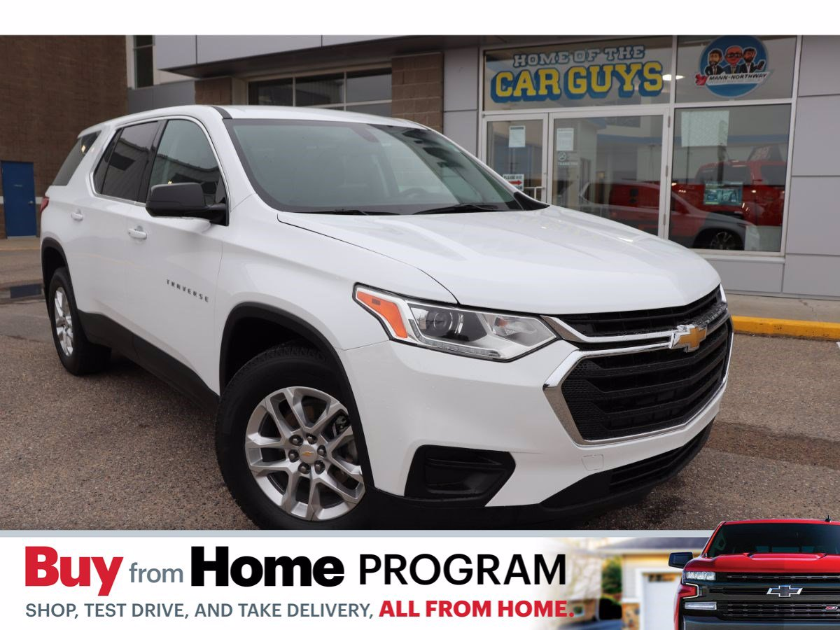 Certified Pre-Owned 2019 Chevrolet Traverse LS | No Accidents, One Owner.