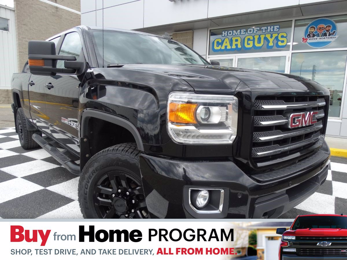 Certified Pre-Owned 2017 GMC Sierra 2500HD SLT | Rear View Camera, Remote Start.