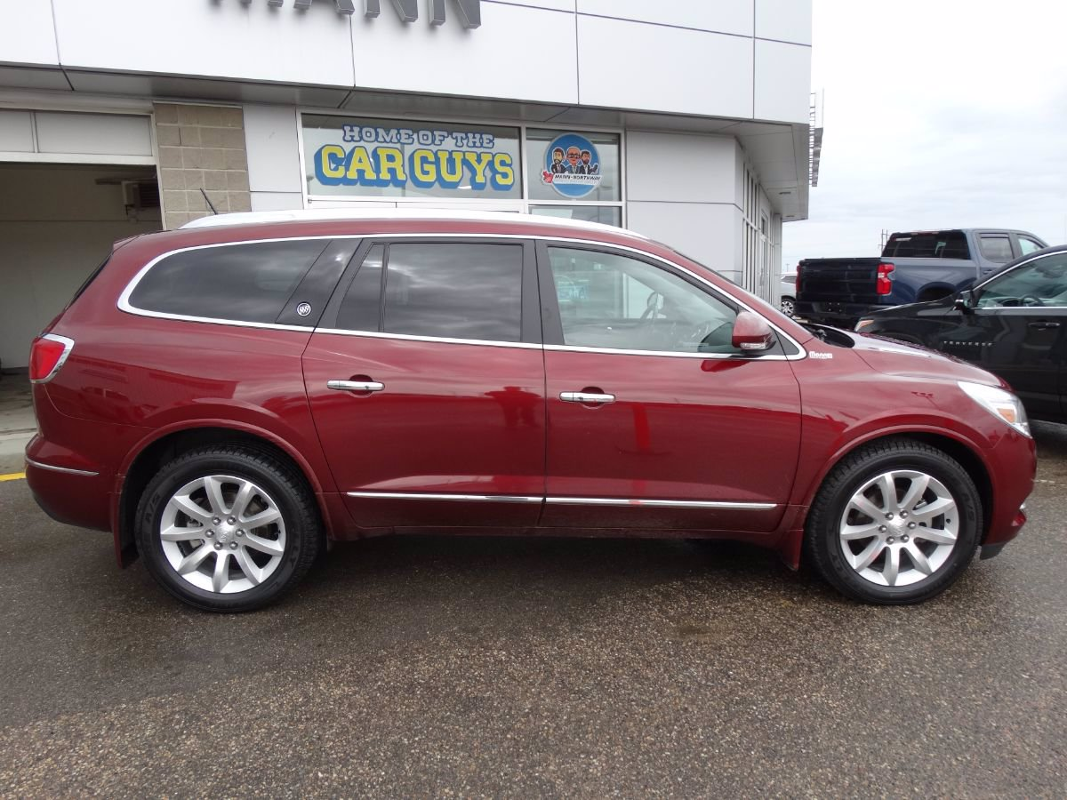 Certified Pre-Owned 2017 Buick Enclave Premium | No Accidents, Heated/Cooled Seats.