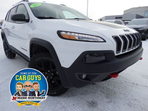 2017 Jeep Cherokee Trailhawk | One Owner, No Accidents.