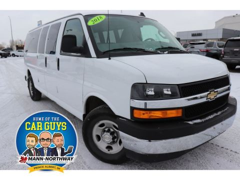 2018 Chevrolet Express Passenger LT | One Owner, No Accidents.