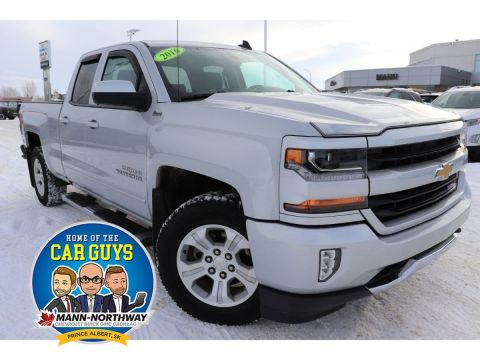 Certified Pre-Owned 2016 Chevrolet Silverado 1500 LT | Factory Warranty, Cruise Control. 4WD Extended Cab Pickup