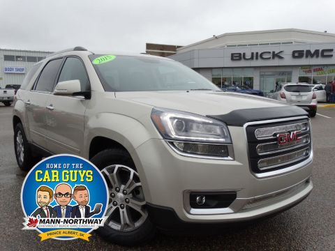 2015 GMC Acadia SLT | Bose Audio, Blind Zone Alert.