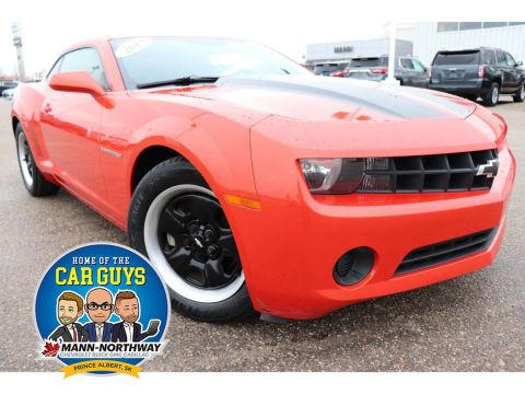 Pre-Owned 2013 Chevrolet Camaro 2LS | One Owner, Low Kilometers. RWD 2dr Car