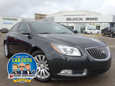 Pre-Owned 2013 Buick Regal Turbo | Heated Wheel, Park Assist. FWD 4dr Car
