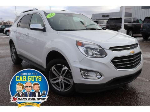 2017 Chevrolet Equinox Premier | One Owner, Heated Seats.