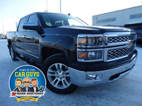 2014 Chevrolet Silverado 1500 LTZ | Remote Start, Leather.