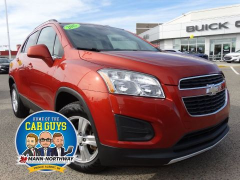 Pre-Owned 2015 Chevrolet Trax LT | Bluetooth, No Accidents. AWD Sport Utility