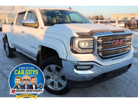 Certified Pre-Owned 2018 GMC Sierra 1500 SLT | Remote Start, Rear View Camera. 4WD Crew Cab Pickup