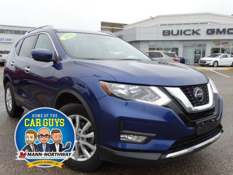 2018 Nissan Rogue SV | Blind Zone Warning, One Owner.